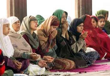 Muslim women discouraged
