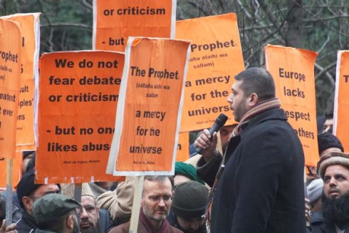 Unite but Follow me ;British Muslims
