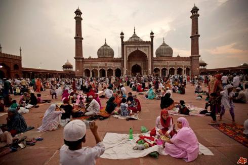 Jama Masjid Delhi Ramadan