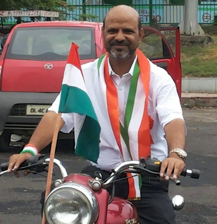enjoying Independence day celebrations at India gate